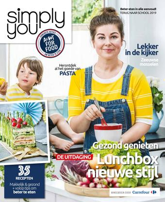 Simply You reclame folder (geldig t/m 30-09)