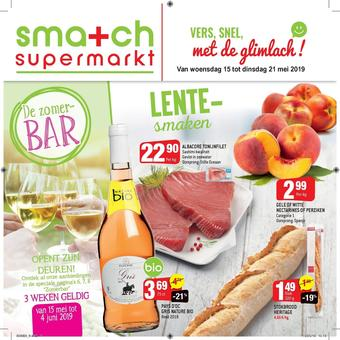 Smatch reclame folder (geldig t/m 21-05)
