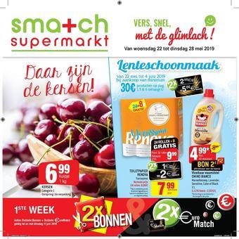 Smatch reclame folder (geldig t/m 28-05)