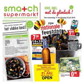Smatch reclame folder (geldig t/m 23-07)