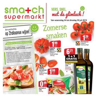 Smatch reclame folder (geldig t/m 29-07)