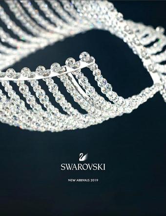 Swarovski reclame folder (geldig t/m 26-08)
