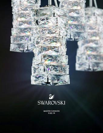 Swarovski reclame folder (geldig t/m 31-12)