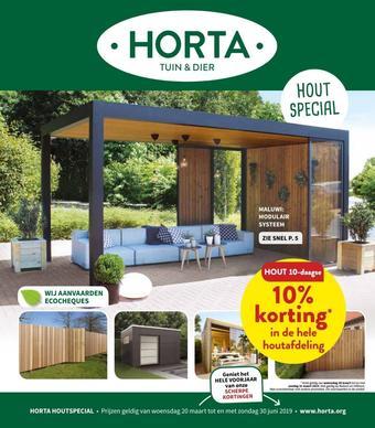 Horta reclame folder (geldig t/m 30-06)