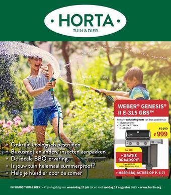 Horta reclame folder (geldig t/m 11-08)