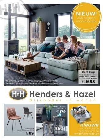 Henders & Hazel reclame folder (geldig t/m 30-06)