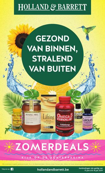 Holland & Barrett reclame folder (geldig t/m 14-07)