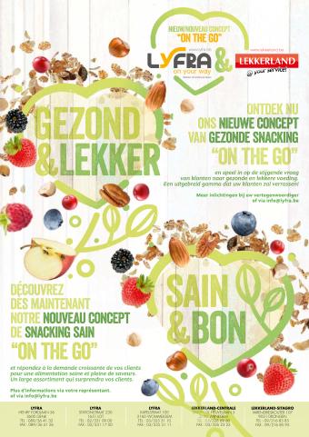 Lekkerland reclame folder (geldig t/m 31-05)
