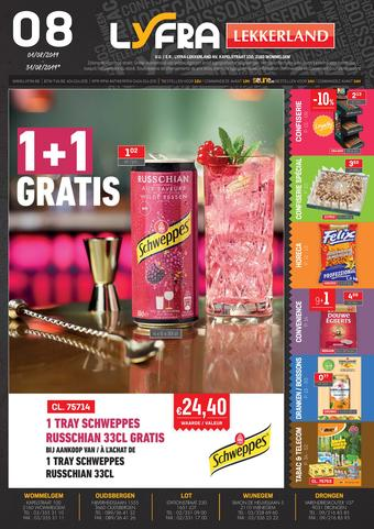 Lekkerland reclame folder (geldig t/m 31-08)