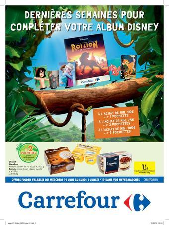 Hyper Carrefour reclame folder (geldig t/m 01-07)