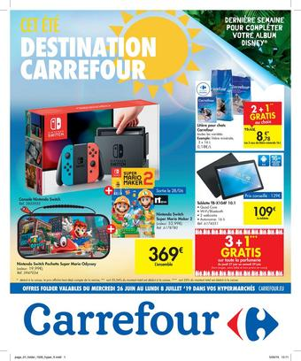 Hyper Carrefour reclame folder (geldig t/m 08-07)