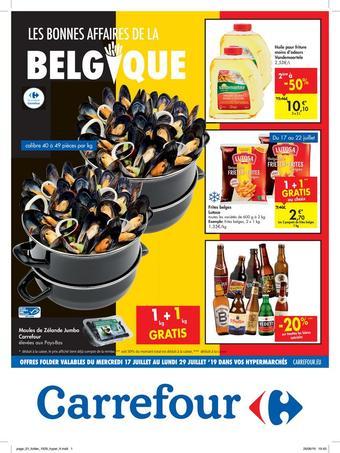 Hyper Carrefour reclame folder (geldig t/m 29-07)