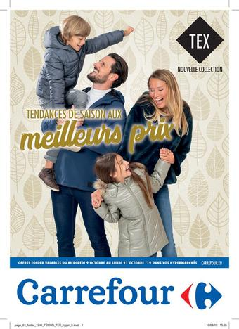 Hyper Carrefour reclame folder (geldig t/m 21-10)