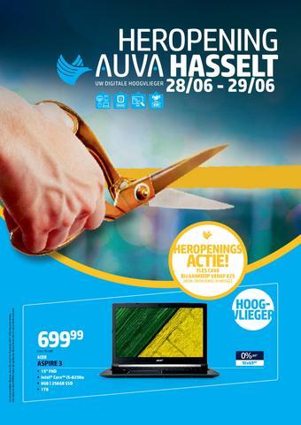 AUVA reclame folder (geldig t/m 31-07)