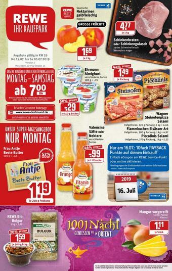 REWE Kaufpark Prospekt (bis einschl. 20-07)