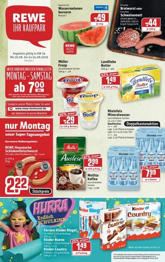 REWE Kaufpark Prospekt (bis einschl. 24-08)