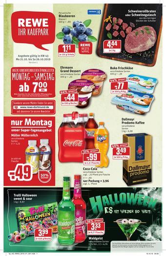 REWE Kaufpark Prospekt (bis einschl. 26-10)