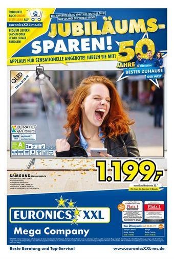 Euronics XXL Prospekt (bis einschl. 25-05)