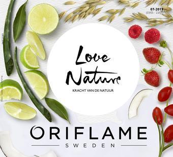 Oriflame reclame folder (geldig t/m 23-05)
