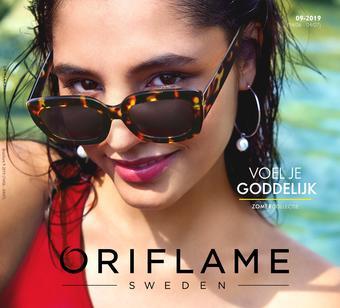 Oriflame reclame folder (geldig t/m 27-06)