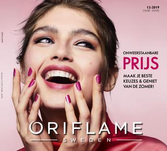 Oriflame reclame folder (geldig t/m 05-09)