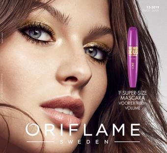 Oriflame reclame folder (geldig t/m 26-09)