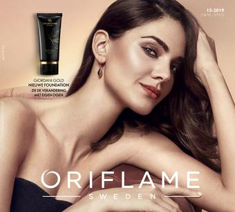 Oriflame reclame folder (geldig t/m 07-11)