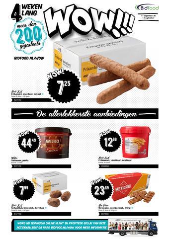 Bidfood reclame folder (geldig t/m 14-09)