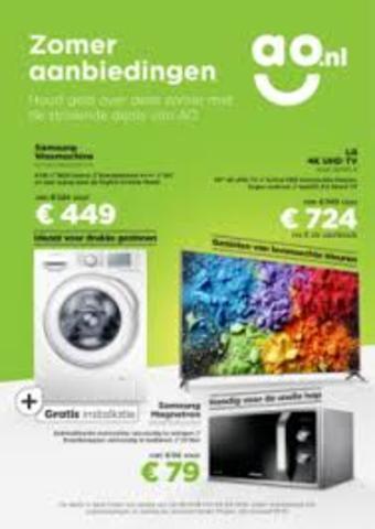 AO.nl reclame folder (geldig t/m 30-11)