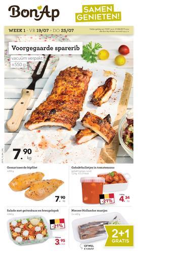 Bon Ap reclame folder (geldig t/m 01-08)
