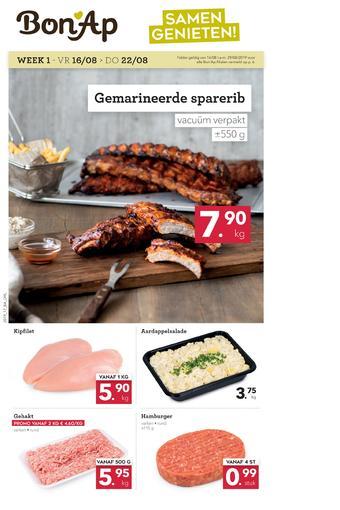 Bon Ap reclame folder (geldig t/m 29-08)