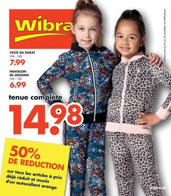 Wibra catalogue publicitaire (valable jusqu'au 24-08)