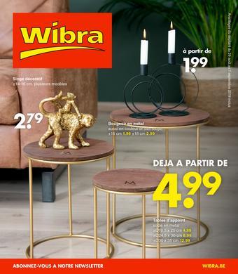 Wibra catalogue publicitaire (valable jusqu'au 07-09)
