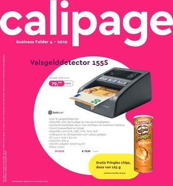 Calipage reclame folder (geldig t/m 03-11)