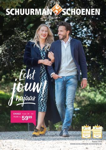 Schuurman Schoenen reclame folder (geldig t/m 27-10)