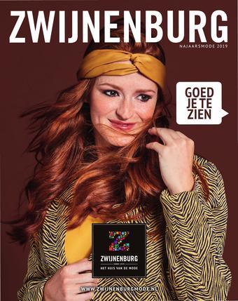 Zwijnenburgmode reclame folder (geldig t/m 27-10)