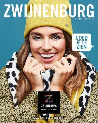 Zwijnenburgmode reclame folder (geldig t/m 26-01)