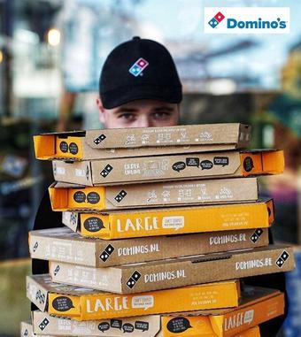 Domino's Pizza reclame folder (geldig t/m 20-01)