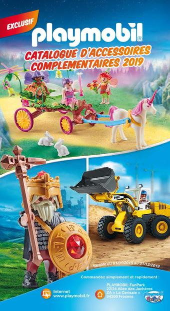 Playmobil catalogue publicitaire (valable jusqu'au 31-12)