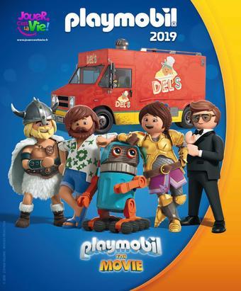 Playmobil catalogue publicitaire (valable jusqu'au 31-07)