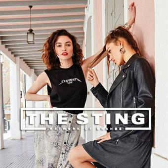 The Sting reclame folder (geldig t/m 10-09)