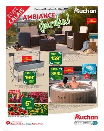 Auchan Direct catalogue publicitaire (valable jusqu'au 16-06)