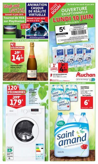Auchan Direct catalogue publicitaire (valable jusqu'au 19-06)