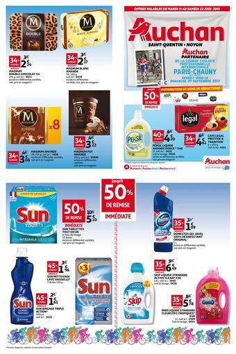 Auchan Direct catalogue publicitaire (valable jusqu'au 23-06)