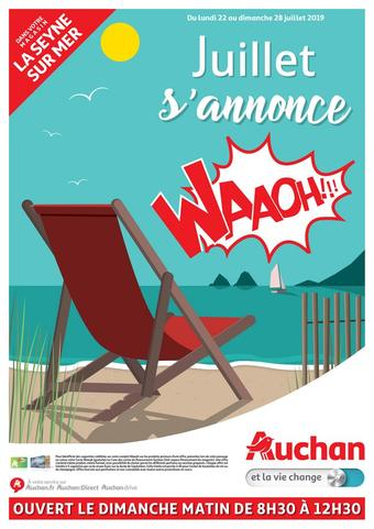 Auchan Direct catalogue publicitaire (valable jusqu'au 28-07)