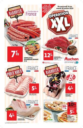 Auchan Direct catalogue publicitaire (valable jusqu'au 30-07)