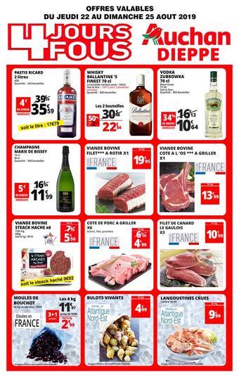 Auchan Direct catalogue publicitaire (valable jusqu'au 25-08)