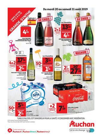 Auchan Direct catalogue publicitaire (valable jusqu'au 31-08)