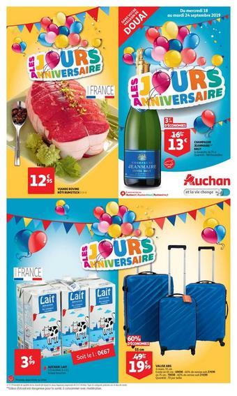 Auchan Direct catalogue publicitaire (valable jusqu'au 24-09)