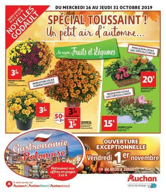 Auchan Direct catalogue publicitaire (valable jusqu'au 31-10)